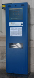 MAV e-ticket machine