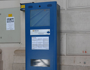 Ticket collection machine