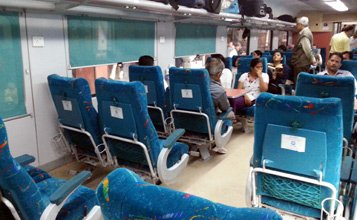 Train travel in India - a beginner's guide | How to buy ... Shatabdi Express Executive Class
