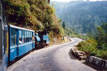 A ride on the Darjeeling Himalayan Railway
