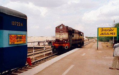 Jaisalmer to Delhi train