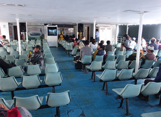 Seats on the ferry