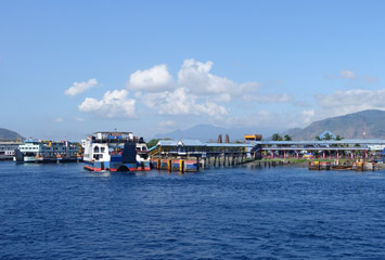 Ferries at Gilimanuk