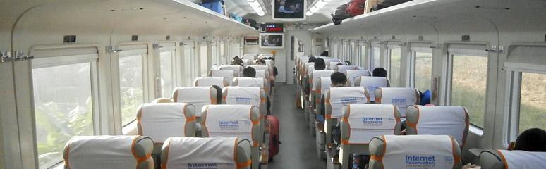 Train Travel In Indonesia Trains Jakarta Surabaya Ferry