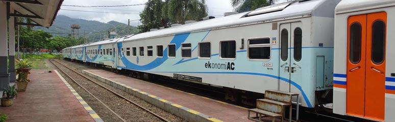 Train travel in Indonesia | Trains Jakarta-Surabaya, ferry
