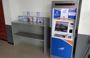 Self-service ticket machines