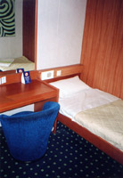 A cabin aboard the Ulysses
