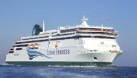 Irish Ferries ship 'Ulysses' from Holyhead to Dublin.  Photo courtesy of Irish Ferries