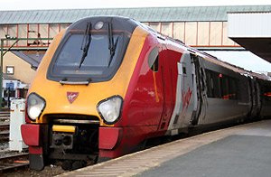 Virgin Trains' Pendolino from London to Holyhead