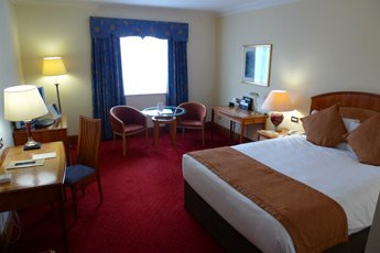 Superior room at the Gresham Hotel, Dublin