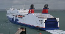 Stena Line's 'HSS' from Holyhead to Ireland