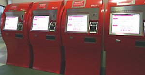 Ticket collection machines