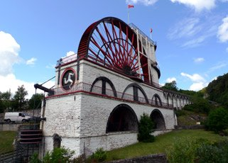 The famous Laxey Wheel