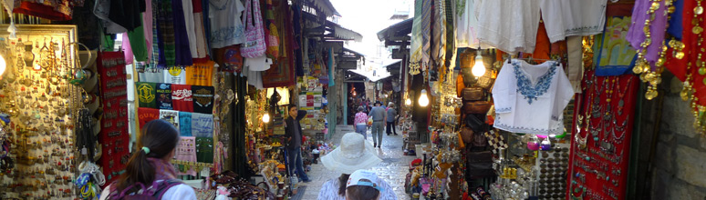 Souqs of the old city
