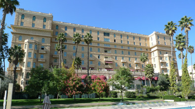 Rear of the King David Hotel, Jerusalem