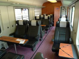InterCity 1st class (6-seat compartment type)