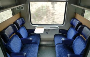 Austrian second class seats