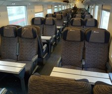 Eurostar City 2nd class seats