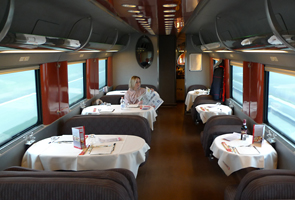 Frecciarossa restaurant car