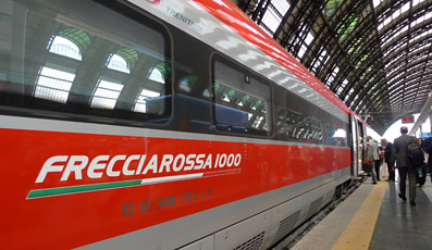 Frecciarossa 1000 at Milan