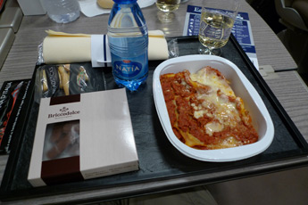 At-seat meal on Frecciarossa 1000