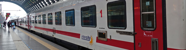 Italian InterCity train