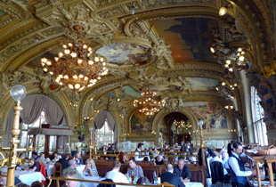 The Train Bleu restaurant at Paris Gare de Lyon