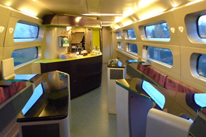 TGV cafe-bar car