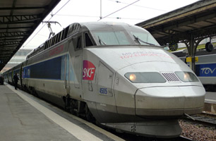 TGV from Milan to Paris