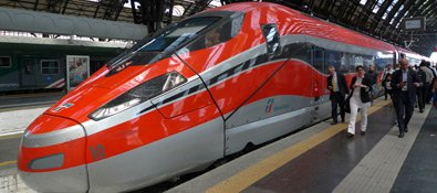 Booking Train Travel In Italy