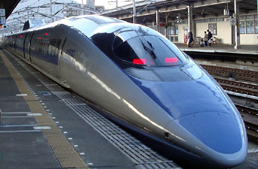 Series 500 shinkansen train