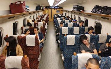 Sakura Unreserved Seat Cars