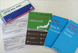 Japan Rail Pass exchange voucher