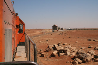 Damascus-Amman train, between Deraa and Mafraq