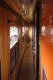 Sleeper corridor, Nairobi to Kisumu train