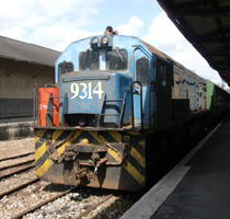 Train from Nairobi arrived at Mombasa