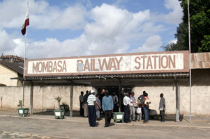 Mombasa train station