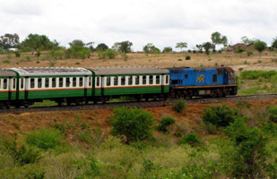 Nairobi to Mombasa train