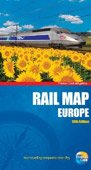 Thomas Cook Rail Map of Europe - buy online