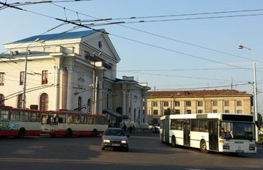 Vilnius railway station, Lithuania