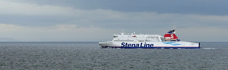 Cairnryan to Belfast by Stena Line ferry