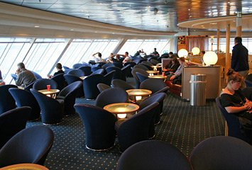 Martello Club lounge on the Ulysses