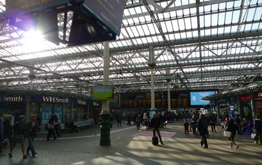 Edinburgh Waverley concourse