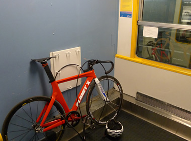 Bike space on French overnight trains