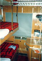 Second class 3-berth room