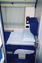 De luxe 1- or 2-berth sleeper, KL - Singapore overnight train