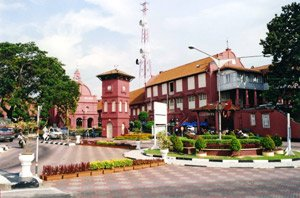 Town square, Malacca