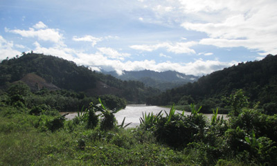Scenery from the Beaufort-Tenom train