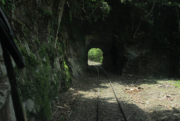 Tunnel on the Beaufort-Tenom line