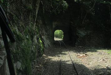 Tunnel on the Beaufort-Tenom line